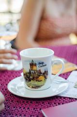 Burg Cochem (Una Cereza Perdida) Tags: cup coffee caf table cafe bokeh plate mug taza cochem mesa mesita burg tacita platillo extremebokeh appero d5100 nikond5100 cafet