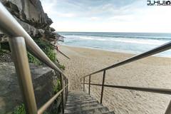 IMG_0910 (Joseph Hui (J_HUI)) Tags: ocean longexposure people cloud sun beach water bondi canon landscape sand rocks sydney 1740 6d tamarama jhui