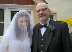 Catherine and her Dad (Just hit 5 million views) Tags: wedding northernireland inverness habost freechurchofscotlandcontinuing