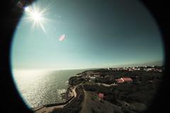 Coup d'Oeil (delenda_cartago_est) Tags: voyage sea sky mer colors photo seaside colours journey phare gul mouette pêche pêcheurs pche royan yatching borddemer lighthousse pcheurs
