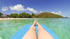 USVI Summer Vacation 2015-20.jpg (MudflapDC) Tags: vacation beach legs stjohn stthomas kokibeach virginislands usvi floaty
