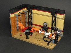 Prawn Farming (Grantmasters) Tags: gun lego district 9 minifig moc