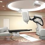 放射線治療機器の写真