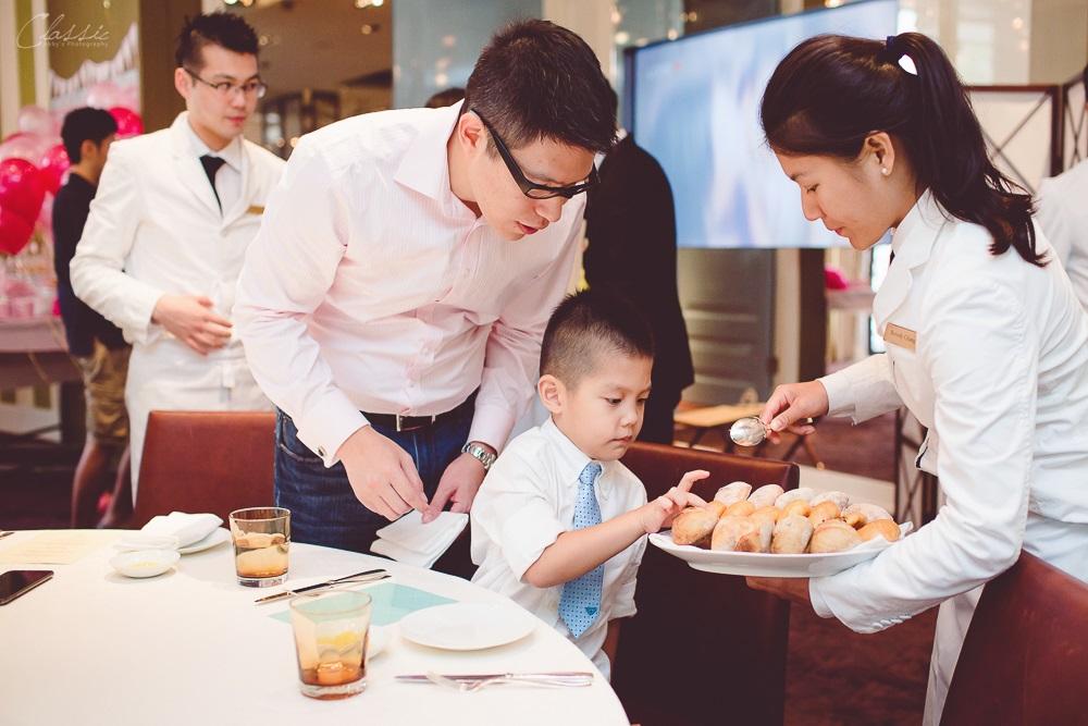 台北文華東方酒店BENCOTTO食記周歲宴攝影師