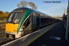 22062+22040 at Kildare, 31/10/15 (hurricanemk1c) Tags: irish train rail railway trains railways irishrail rok rotem kildare 2015 icr iarnród 22000 22062 éireann iarnródéireann 3pce 1525heustoncork