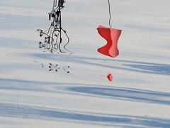 shaded movement (saudades1000) Tags: red abstract reflection rojo agua abstrato saudades1000 shadedmovement