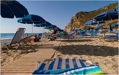 Kathisma Beach (ForceMajeureMontenegro) Tags: plaza playa greece griechenland spiaggia lefkada ionianislands grčka kathismabeach