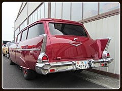 Chevrolet 150 Handyman Station Wagon, 1957 (v8dub) Tags: auto old classic chevrolet car station wagon schweiz switzerland automobile break estate suisse automotive voiture 150 chevy american 1957 oldtimer sw oldcar combi kombi collector handyman wagen pkw klassik bleienbach worldcars