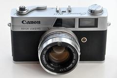 Canonet QL17 (pho-Tony) Tags: japan canon lens japanese rangefinder automatic 1960s load quick canonet ql17 canonetql17 45mm 1965 117 f17 photosofcameras