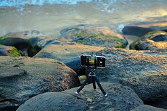 capturing sunset (#KPbIM) Tags: ocean life trip november sunset vacation fall beach water fun hawaii rocks pacific sony tripod maui adventure alpha kalama 6000 iphone 6s