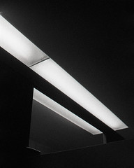 (emily.jones_blachowicz) Tags: white abstract black film lines architecture analog 35mm emily traditional super minimalism 3200 ilford ricoh obscure kr5 jonesblachowicz