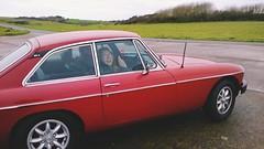 MGBGT (harrisophielizabeth) Tags: cars car driving sunday mg redcars mgbgt