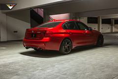 BMW F30 3 Series - Vorsteiner Carbon Fiber Front Spoiler And Flow Forged Wheels (Vorsteiner) Tags: cars wheels automotive bmw autos tuning tuned bimmers bmwf30 bmwf303series flowforged