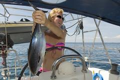 XOKA9056bs (forum.linvoyage.com) Tags: ocean sea sexy girl smile thailand fishing yacht outdoor bikini captain sail phuket tuna            phuketian forumlinvoyagecom httpforumlinvoyagecom phuketphotographernet