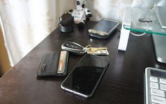 Daily Carry 12-2015 (soulreaver99) Tags: keys wallet smartphone chevy volt iphone tumi