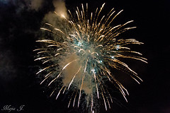 New Years fireworks 2016 (Darkiller45) Tags: eve evening downtown florida fireworks miami bayside newyears 2015