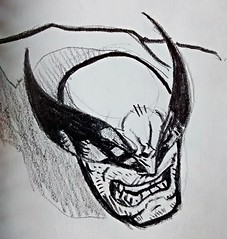 Wolverine (Esteban Candia) Tags: pencil comics sketch comic spiderman sketchbook superhero marvel avengers wolverine avenging onpaper lobezno madureira joemadureira avengingspiderman