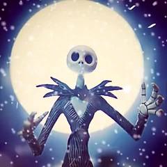 Ho! Ho! Ho! Merry Christmas! #jackskellington #nightmarebeforechristmas #santa #moon #toyphotography #lumyer #christmas (DannySanchezToyPhotography) Tags: santa christmas moon jackskellington nightmarebeforechristmas toyphotography lumyer