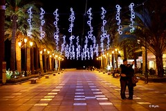 Festive (Kym.) Tags: light people festive spain promenade andalusia nerja andalucia