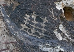 Petroglyph / Willow Spring Site (Ron Wolf) Tags: archaeology grid nevada nativeamerican petroglyph anthropology rockart blm redrockcanyonnationalconservationarea diamondpattern