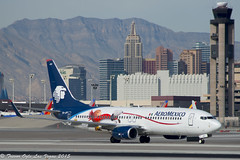 DSC_5499Pwm (T.O. Images) Tags: new york las vegas airport peanuts international boeing mccarran 737 aeromexico xajoy