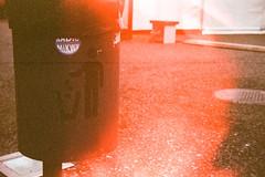 Don't throw it all away. (Markus Moning) Tags: light film analog 35mm austria dornbirn sterreich garbage all kodak cd voigtlander away can it bin dont 400 waste leak expired throw voigtlnder abfall supra vito moning abfalleimer oesterreich eimer vorarlberg kbel stereich at markusmoning anlaog inatura