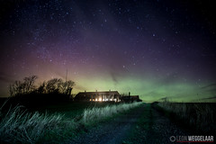 Northern lights in Denmark