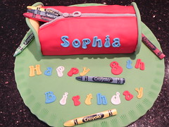 Pencil Case Cake (Victorious_Sponge) Tags: birthday cake pencil case