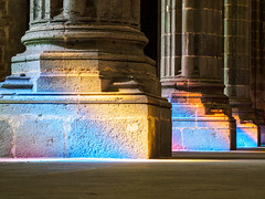 Columns of colors