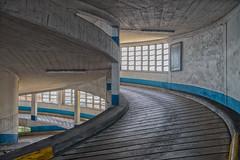 Round and round (JLAerts) Tags: parking garage venetie venezia venice curves