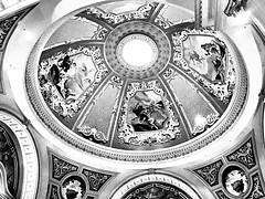 The Venetian ceiling, Las Vegas (Rob Woods001) Tags: iphone mono blackwhite lasvegas venetian