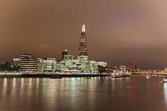 The Shard Skyline (manjidesigns) Tags: travel london unitedkingdom towerbridge evening nightscene theshard cityskyline england europe uk