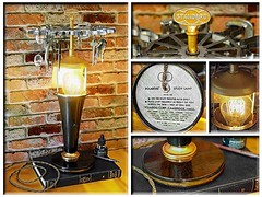 Check out this Circa 1930's #Vintage #Polarod #Study #Lamp topped with #Stardard #Stamp #Collection #Wheel. This is a #Model 100 with a #Tortoise #Shell #Design #Bakelite base and #Copper accents. Display your favorite collections on the spinning wheel. # (https://www.facebook.com/loftyideas4u) Tags: uploaded:by=instagram 1930s vintage polarod study lamp stardard stamp collection wheel model 100 tortoise shell design bakelite copper antique desk treasures jewelry stamps craft handy tools bottles electrical fabric twisted cord industrial steampunk ebay etsy