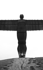 Angel of the North, Gateshead. Antony Gormley 1998 (neil mp) Tags: angel angelofthenorth gormley antonygormley sculpture figure steel newcastle gateshead tyneandwear lowfell