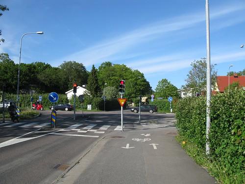 Gamla Tumlehedsvägen _ Kongahällavägen _ Solängsvägen, Torslanda, Göteborg, 2011