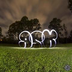 Cloudy Flop (MISHKA Vision - Light Graffer) Tags: australie australia lightpainting lightgraff longexposure expositionlongue nightphotography roadtrip