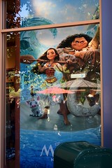 Disneyland Visit 2016-11-06 - Downtown Disney - World of Disney - Moana Poster (drj1828) Tags: us disneyland dlr visit 2016 downtowndisney worldofdisney