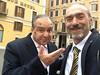 (GIORGIO BONOMO) Tags: striscia la notizia vespone vespa imitatore giorgio bonomo aloe vera politici lazio roma italia