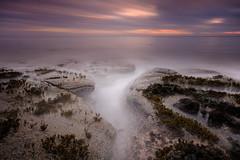 Silence of the Sea (johnkaysleftleg) Tags: howick sunrise morning dawn calm rocks northumberland northumberlandcoast northumbria northeast england canon760d sigma1020mmf456exdchsm 10stopfilter nd3 ndhardgrad06