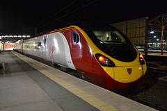 Virgin Trains Pendolino 390153 Mission Accomplished (Will Swain) Tags: carlisle station 24th september 2016 train trains rail railway railways transport travel uk britain vehicle vehicles country england english north west crewe cheshire virgin pendolino 390153 mission accomplished class 390
