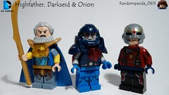 Highfather, Darkseid & Orion (Random_Panda) Tags: lego figs fig figures figure minifigs minifig minifigures minifigure purist purists character characters dc comics superhero superheroes hero heroes super comic book books darkseid orion highfather