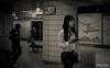 The changing faces of the Seoul Metro commuter (gunman47) Tags: 6 asia b bw itaewon korail korea korean metro metropolitan mono monochrome rok railway republic seoul sepia south station w black commuter line photography street white woman 서울 ìì¸ southkorea