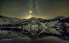25 degrees of Heaven and a little Grace (swazileigh/ Langman Lightscapes) Tags: astrophotography easternsierra california milkyway stars mountains trees lake reflection airglow snow snowpeaks outbound explore fullmoon nikon nikond800 rokinon nightphotography heaven heavens universe googleimages yahooimages landscapephotography wanderlust sierranevada mammothlakes nightscape