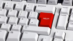 (ScherbinskiyVestnik) Tags:    computerkeyboard help support helpbutton panicbutton panic button itsupport service assistance red computerkey enterkey computer urgency technology keypad fear control stop problems warningsymbol ahelpinghand concepts copyspace nobody colour photography horizontal