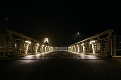 P2470225 (Lumixfan68) Tags: nachtaufnahmen reventloubrcke kiel hafen