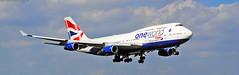 British Airways 747-400 (Infinity & Beyond Photography) Tags: britishairways boeing 747 b747 b747400 747400 mia kmia