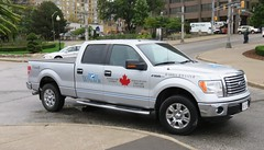 Windsor Port Authority (Hear and Their) Tags: uss detroit windsor ontario navy rcmp ford pickup truck f150 canada harbour master port authority