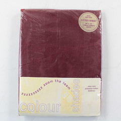 "Fitted Sheet for King Size Bed 60"" x 78"" (150cmx 200cm) approx. Polyester/Cotton"