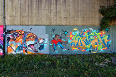 Artists: Unknown (pharoahsax) Tags: frankreich strasbourg elsass graffiti alsace france pmbvw bw kunst art streetart street urban urbanart paint graff wall artist legal mural painter painting peinture spraycan spray writer writing artwork tag tags worldgetcolors world get colors