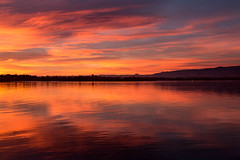 Dawn Breaks (mclcbooks) Tags: sunrise dawn daybreak sky morning landscape seascape clouds reflections lakechatfield chatfieldlakestatepark colorado autumn fall